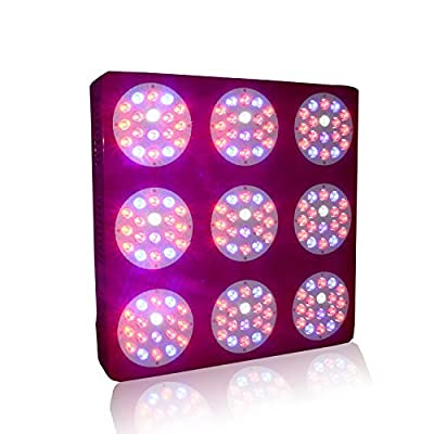 ZNET9 Full Spectrum 800W 162*5W Led Grow Light for Indoor Growing Medical Plants