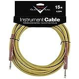 Accessoires guitares FENDER CUSTOM SHOP CABLE POUR INSTRUMENT 4M50 TWEED Cables instrument