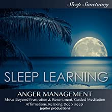 Anger Management, Move Beyond Frustration & Resentment: Sleep Learning, Guided Meditation, Affirmations, Relaxing Deep Sleep Speech by  Jupiter Productions Narrated by Kev Thompson