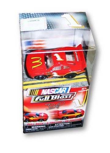 NASCAR Full Blast Pull Back Friction Collectible Car (#1 Jamie McMurray) - 1