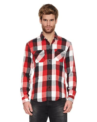 Levi's Camisa Blakely Red / Black