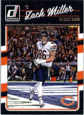 2016 Donruss #56 Zach Miller Chicago Bears Football Card