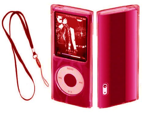 MaryCom Crystal Case Light Red