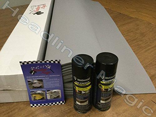 lt-gray-auto-headliner-fits-nissan-xterra-3-16-foam-back-fabric-material-120-w-2-can-high-temp-adhes