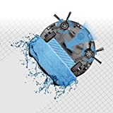 Teckey® WIFI Staubsauger-Roboter 330C mit Ladestation u. Smart-Touch-Funktion - Home - Saugen u/o wischen mit leisem superschlanken Roboter. -