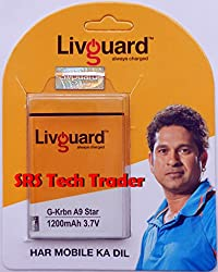 Livguard Battery for Karbonn A9 star (A9*)