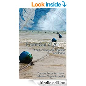 From Out of Air: A Set of Songs for Soprano and Piano