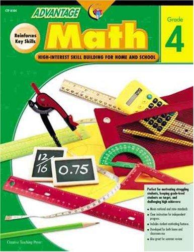 Advantage Math Grade 4: High-interest Skill Building for Home and School (Advantage Math Grade 4 compare prices)