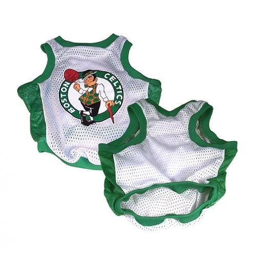 Sporty K9 Boston Celtics Basketball Dog Jersey, X-Large