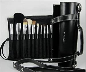 16pc Set Professional make-up MAC brush set with gorgeous ...