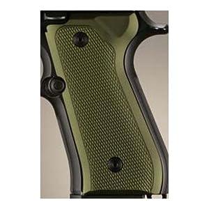 Amazon.com : Hogue Beretta 92 Grips Checkered Aluminum