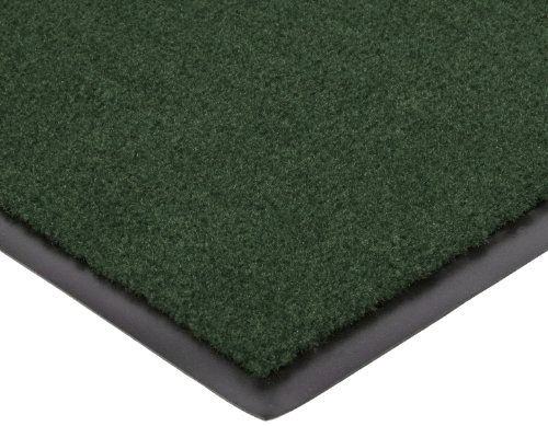 "Notrax 131 Dante Decalon Entrance Mat, for Lobbies and Indoor Entranceways, 3' Width x 10' Length x 3/8"" Thickness, Hunter Green at Sears.com"
