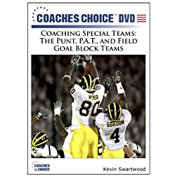Coaching Special Teams: The Punt, P.A.T., and Field Goal Block Teams