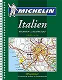 echange, troc Atlas routiers et touristiques Michelin - Atlas routiers : Italie (format A4, spirale)