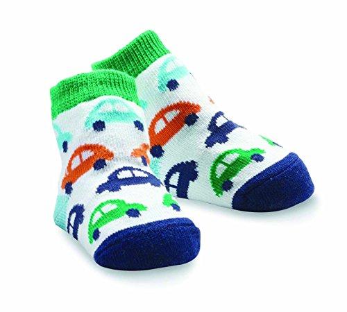 Mud Pie Baby-Boys Newborn Car Sock, Multi, 0-12 Months front-1027113