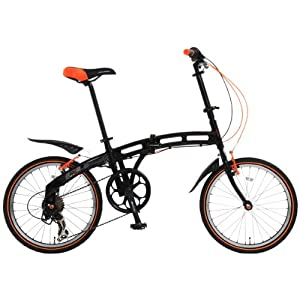 DOPPELGANGER(ドッペルギャンガー) 202 blackmax 20インチ 折りたたみ自転車 blackmaxシリーズ