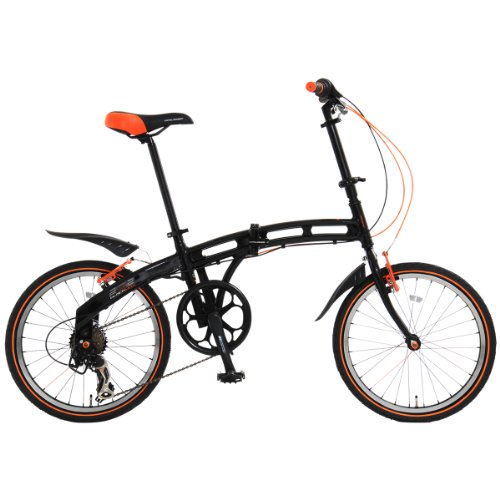 Doppelganger Mark Sg Comes Standard Light / Key Shimano 7-speed Folding Bike 202 Blackmax 20-inch Aluminum Frame