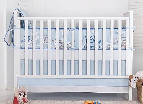 Novela Nevo 3 Piece Organic Baby Bedding Set