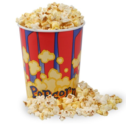 Movie Theater Popcorn Bucket Size: 32 oz, Quantity: 50 Buckets (Popcorn Buckets Great Northern compare prices)