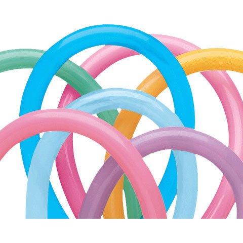 Qualatex 260Q Vibrant Assortment Tying Balloons (10ct)