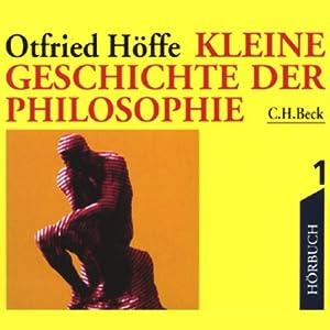 Kleine Geschichte der Philosophie 1 Hörbuch