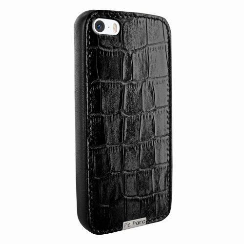 Best Price Apple iPhone 5 / 5S Piel Frama Black Crocodile FramaGrip Leather Cover