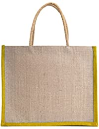 Verdant Globe Eco Friendly Jute Bag,Carry Bag,Travel Bag,Hand Bag, Shopping Bag, Lunch Bag ... - B01GXR7JXY