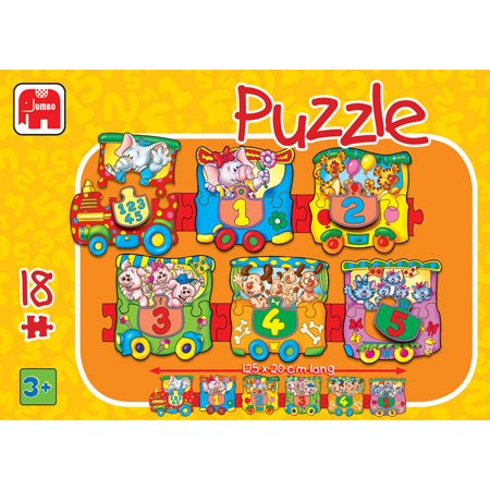Cheap Jumbo Train 18pc Floor Puzzle (B000BKJR3A)