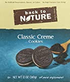 Back To Nature Cookies, Classic Creme, 12 Ounce