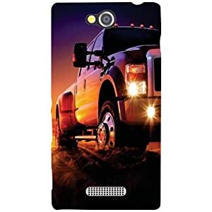Sony Xperia C Back cover - At Night Designer cases