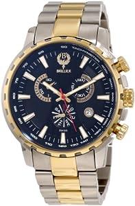 Brillier Men's 16-09 Endurer Gold Chronograph Swiss Quartz Watch