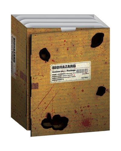 BIOHAZARD Anniversary Package CAPCOM NTSC-J Japan Free Shiping USED