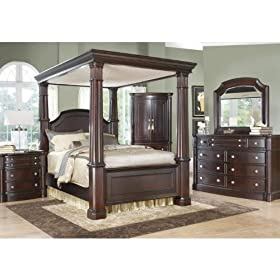 Dumont Canopy 6 Pc Queen Bedroom