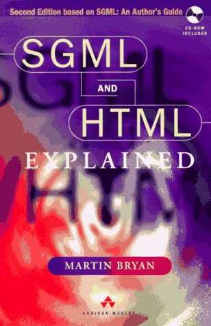 SGML and HTML 4.0 Explained