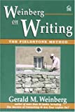 Weinberg on Writing: The Fieldstone Method