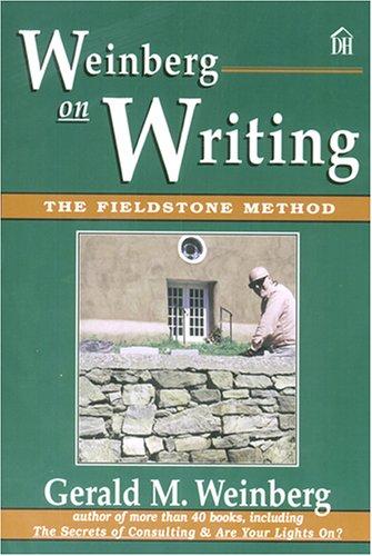 Best Price Weinberg on Writing The Fieldstone Method093265309X