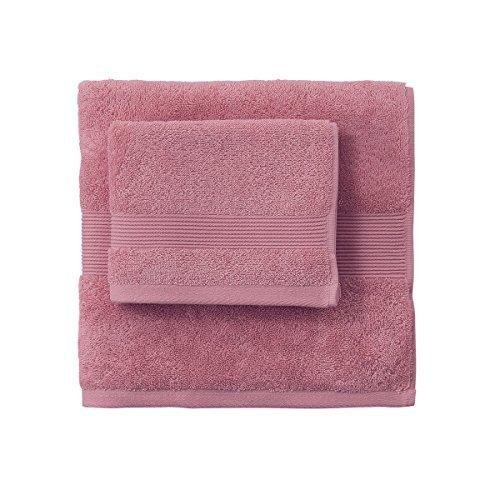 Telo da bagno in spugna 90x180 SOLO TUO Zucchi - var. rosa antico