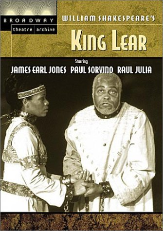 King Lear / Jones, New York Shakespeare Festival (Broadway Theatre Archive) (King Of New York Movie compare prices)