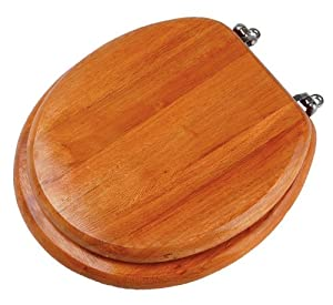 Premier Housewares Wooden Toilet Seat