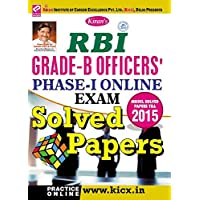 Kiran's RBI Grade B Officers - Phase I Online Exam Solved Papers