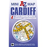 Cardiff Mini Map (A-Z Street Maps & Atlases)by Geographers' A-Z Map...