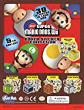 "Super Mario Bros. Wii Boxed Sticker Collection Set of 5 Vending Toys - Capsule Toys ""About 30 Stickers in Each Box"""