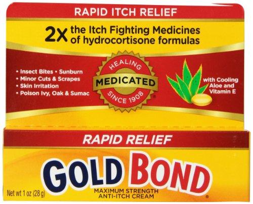Gold Bond Maximum Strength Medicated Anti-Itch Cream, 1 Ounce