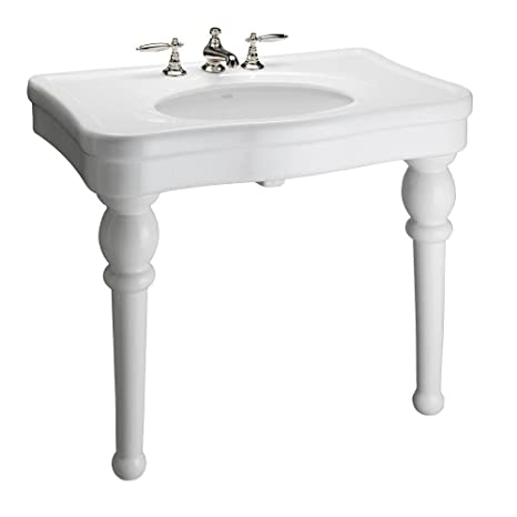 Barclay PGVCL-B Versailles Console Sink, White