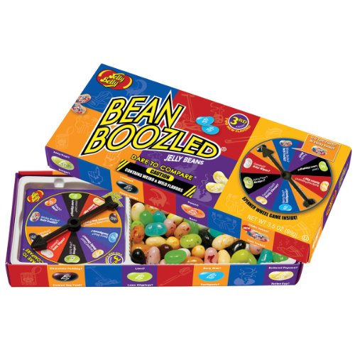 Jelly Belly BeanBoozled Jelly Beans with Spinner Wheel Game 3rd Edition NEW Flavors Stinky Socks