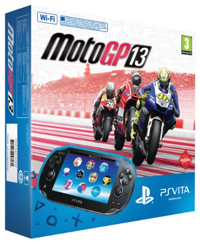 PlayStation Vita (PS Vita) - Console [Wi-Fi] con Moto GP 13 [Bundle]