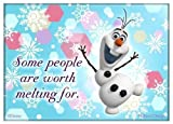 Worth Melting For, Olaf Disney Frozen Refrigerator Magnet