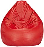 #7: Solimo XXXL Bean Bag Cover Without Beans (Red)