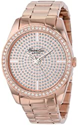 Kenneth Cole New York Women's KC4958 Classic Triple Rose Gold Bracelet Stone Dial Watch