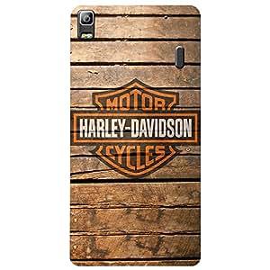 Lenova K3 Note Daddy Harley Printed back cover